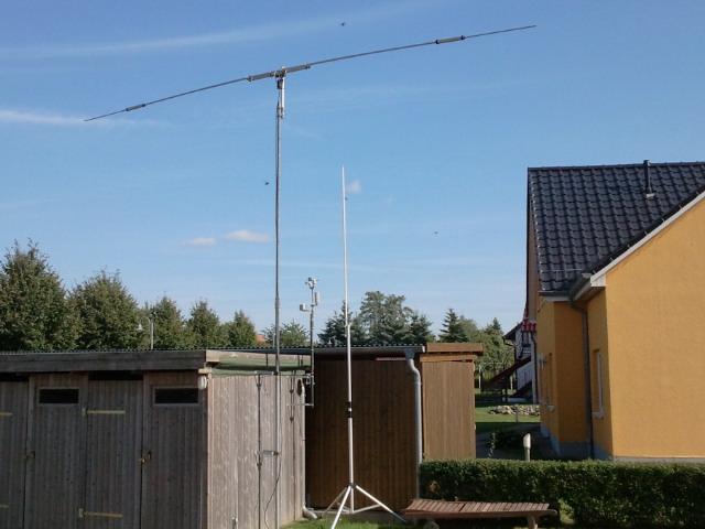 Antennen in Fleesensee